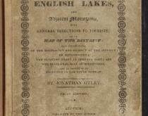 Jonathan Otley, A Concise Description of the English lakes, 3rd ed. 1827.